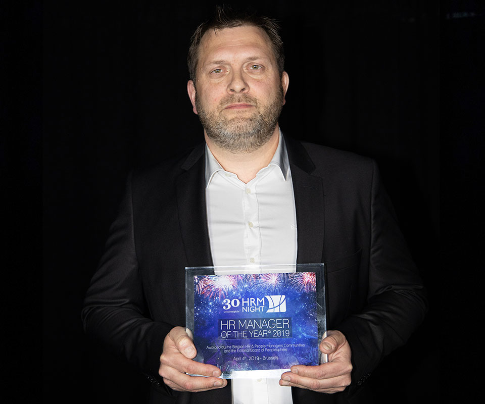 HR Manager of the Year© 2019 : Arnaud Delmarche (Groupe Wanty)